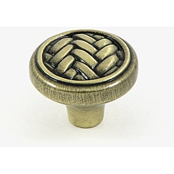 Stone Mill 'Harris' Brass Cabinet Knobs (Pack of 25)