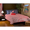 Patriot Red 6-piece King Comforter Set