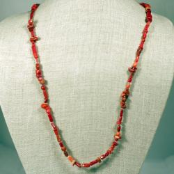 Designs Red Coral Potpourri Necklace (China)