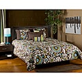 Orleans Brown 6-piece Queen Comforter Set