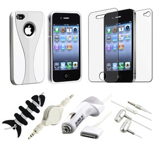 Case/ LCD Protector/ Headset/ Wrap/ Cable/ Charger for Apple iPhone 4S