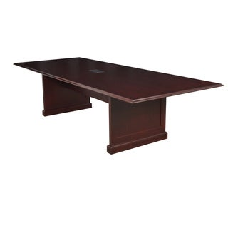 Regency Seating Rectangle Mahogany Veneer Conference Table (120x48 )