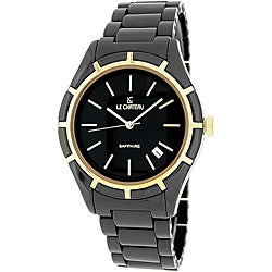 Le Chateau Men's Classico Ceramic Sapphire Crystal Watch