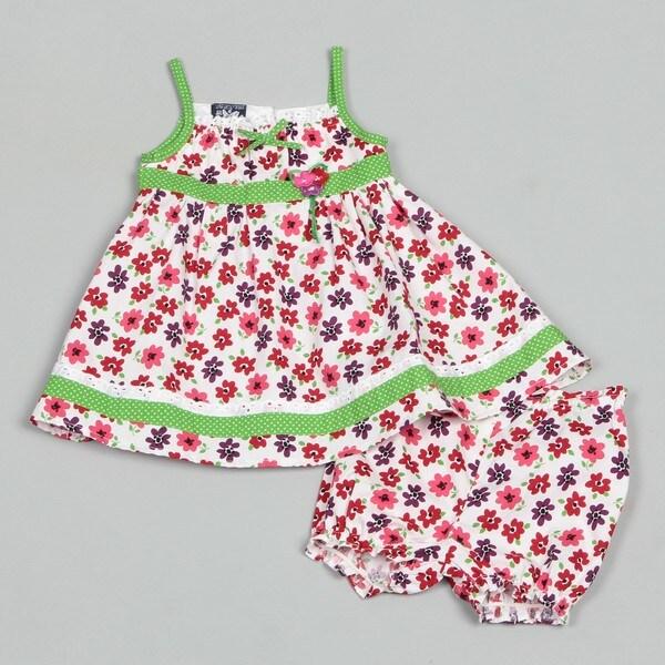 So La Vita Infant Girl's Floral Dress