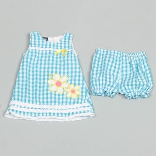 So La Vita Infant Girl's Seersucker Dress