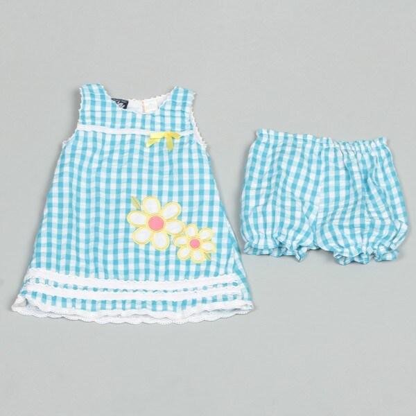 So La Vita Infant Girl's Seersucker Dress