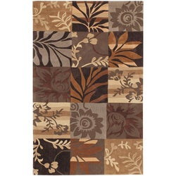 Hand-tufted Brown Madela Rug (9' x 13')