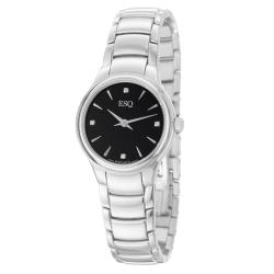 ESQ by Movado Women's 'Elan' Stainless Steel Diamond Quartz Watch