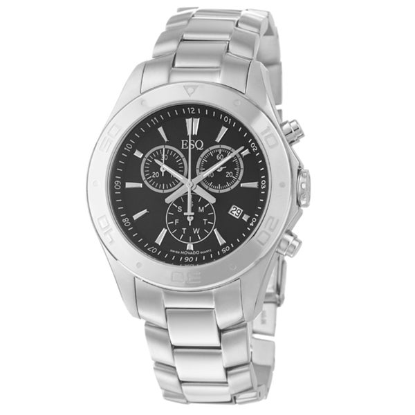 ESQ by Movado Men's 'Aston' Stainless Steel Chronograph Quartz Watch