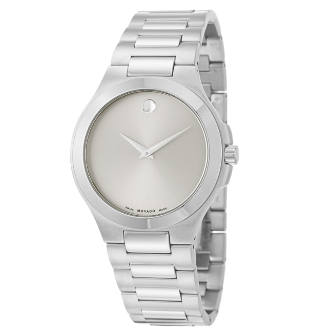 Movado Men's 'Movado Collection' Stainless Steel Quartz Watch