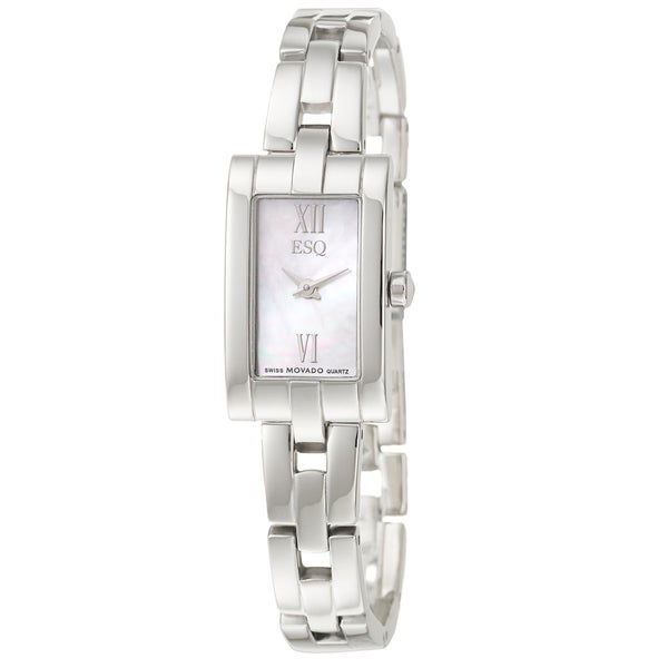 ESQ by Movado Women's 'Linque' Stainless Steel Quartz Watch