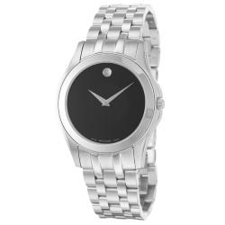 Movado Men's 'Corporate Exclusive' Stainless Steel Quartz Watch