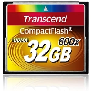 Transcend TS32GCF600 32 GB CompactFlash (CF) Card