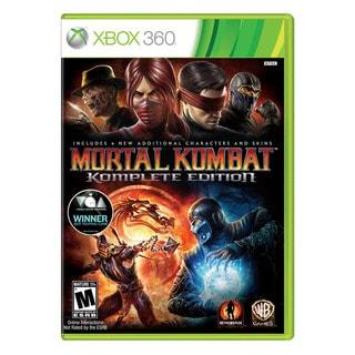 Xbox 360 - Mortal Kombat Komplete Edition