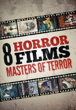8-Film Masters Of Terror Collection (DVD)