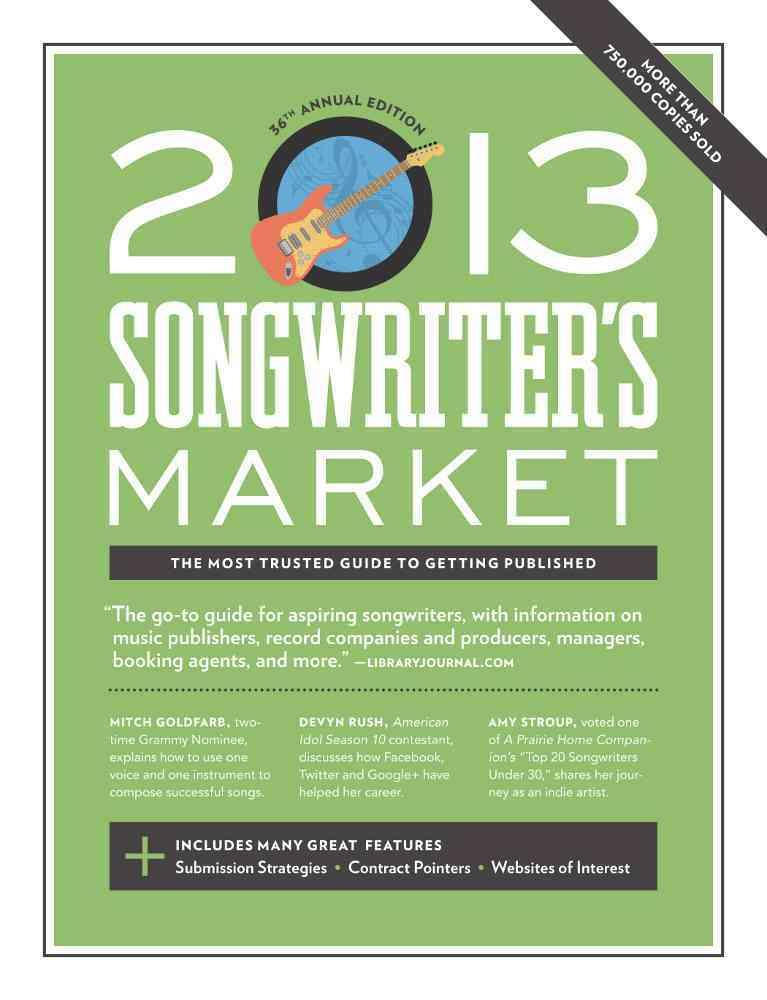 Songwriter's Market 2013 (Paperback)