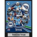 2011 Tennessee Titans 9 X 12 Team Plaque