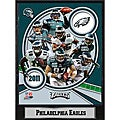 2011 Philadelphia Eagles 9 X 12 Team Plaque