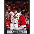 2011 World Series Champions St.Louis Cardinals Yadier Molina Plaque