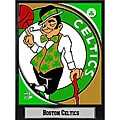 2011 Boston Celtics 9 X 12 Logo Plaque