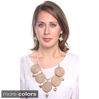 Jute Bead Necklace (India)
