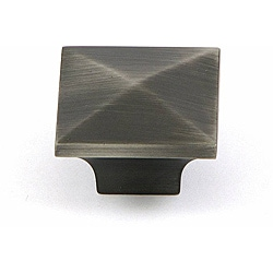 Stone Mill 'Cairo' Weathered Nickel Cabinet Knobs (Case of 25)