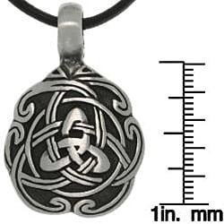 CGC Pewter Unisex Celtic Unity Necklace
