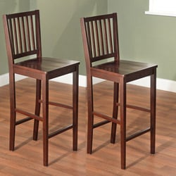 30-inch Shaker Bar Stools (Set of 2)