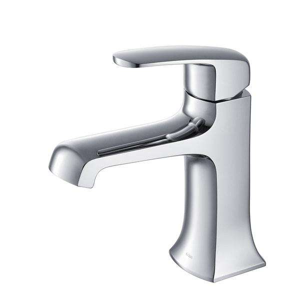 Kraus Decorum Single Lever Bas-inch Faucet Chrome