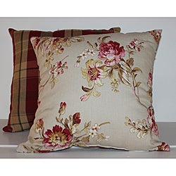 Bennington Rose Decorative Pillow (Set of 2)