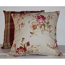 Bennington Rose Decorative Pillow (Set of 2)