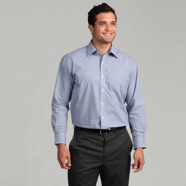 Nautica Men's Non-Iron Deep Ultramarine Dress Shirt FINAL SALE