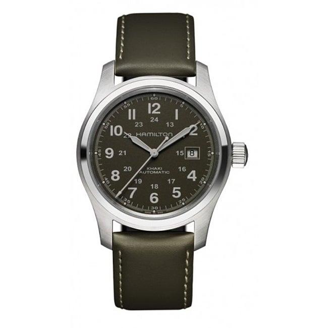 Hamilton Men's Khaki Field Black Automatic Dial Watch