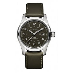 Hamilton Men's Black Automatic Watch