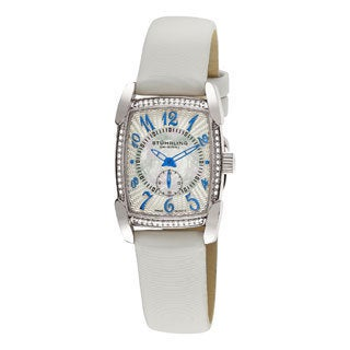 Stuhrling Original Women's Carnegie Rose Water-Resistant Swiss Quartz Watch