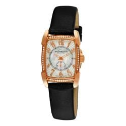 Stuhrling Original Women's Carnegie Rose Swiss Quartz Watch