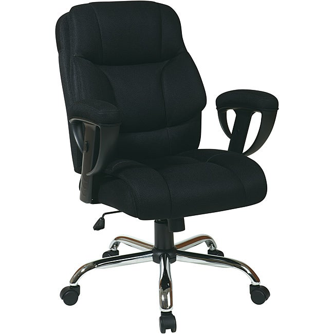 office star executive big man 39 s chair with mesh seat and back