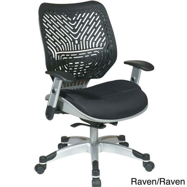 Office Star REVV Series Self Adjusting SpaceFlex Back Chair with Self Adjusting Mechanism