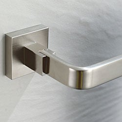 Kraus Aura Bathroom Accessories - Towel Ring Brushed Nickel