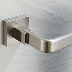 Kraus Aura Bathroom Accessory - Towel Ring Brushed Nickel