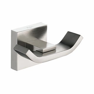 KRAUS Bathroom Accessories - Double Hook in Brushed Nickel - Brushed nickel