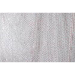 Pretty Pink Swirls Shower Curtain