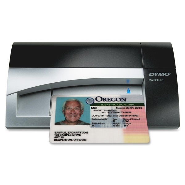 Dymo CardScan Card Scanner - 300 dpi Optical
