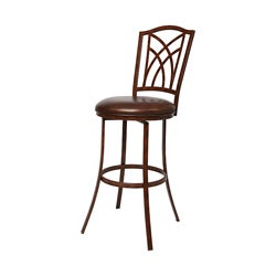 Kyra 26-inch Swivel Counter Stool
