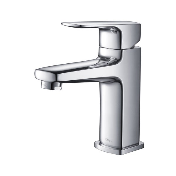 Kraus Virtus Chrome Single Lever Basin Faucet