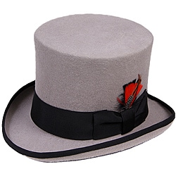 Ferrecci Men's Grey Top Hat