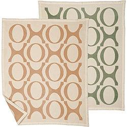 Bocasa XOXO Organic Baby Blanket