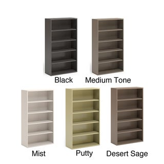 Mayline CSII 36-inch Wide All Steel 5-Shelf Bookcase