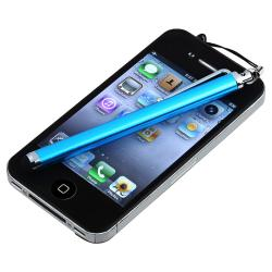 Blue Touch Screen Stylus for Apple iPhone/ iPod/ iPad