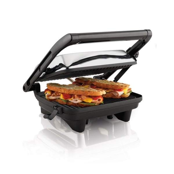 Hamilton Beach 25460 Nonstick Panini Press